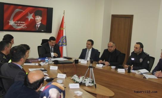 Çankırı Emniyet Müdürü Sadettin Aksoy Huzur Toplantısı Düzenlendi