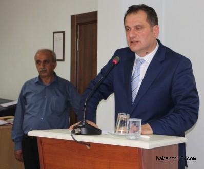 Çankırı İl Genel Meclis Başkanlığına Mustafa Çıbık Seçildi