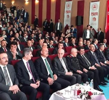 """Çankırı Kaya Tuzu Tanıtım Projesi """"Projem Türkiye"""" Sergisinde…"""