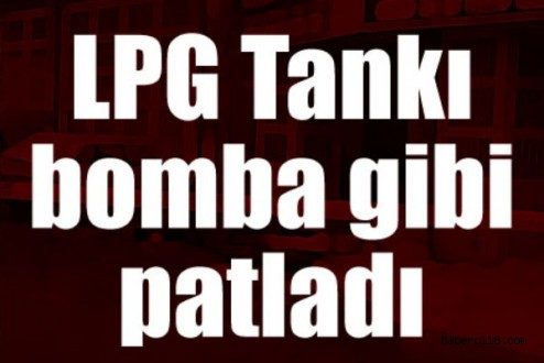 Çankırı Küçük Sanayi Sitesinde LPG Patlaması 3 Yaralı