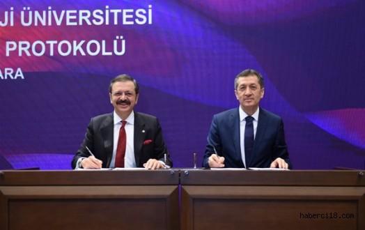 """Çankırı Mesleki ve Teknik Anadolu Lisesi ile Şehit Mehmet Ata Mesleki ve Teknik Anadolu Lisesi """"Proje Okulu"""" Kapsamına Alındı"""