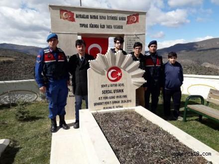 Çankırı Mesleki ve Teknik Anadolu Lisesinden Şehidime Vefa Projesi