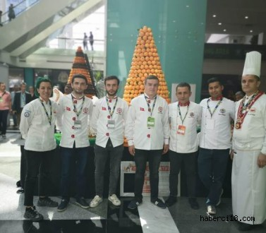Çankırı Profesyonel Aşçılar Derneği Coğrafi İşaretli Ürünler Zirvesinde İlimizi Temsil Etti