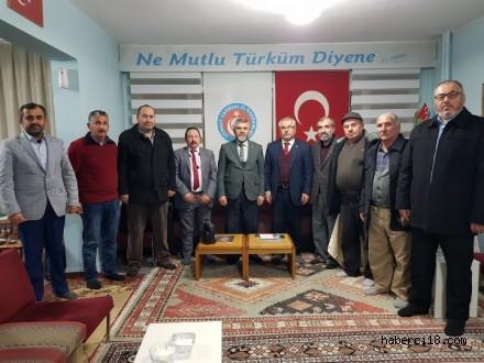 Çankırı Şehit ve Gaziler Derneğinden Çankırı TÜRKAV'a Ziyaret