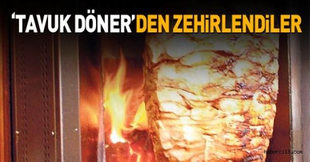 Çankırı'da Tavuk Dönerden 7 Kişi Zehirlendi
