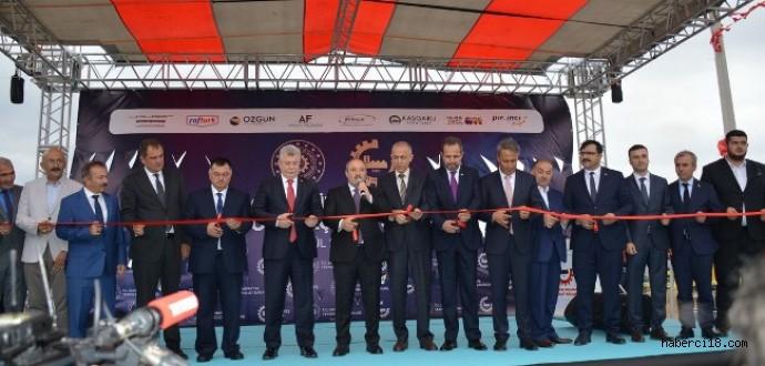 Çerkeş Organize Sanayi Bölgesi Toplu Açılış Töreni Gerçekleştirildi