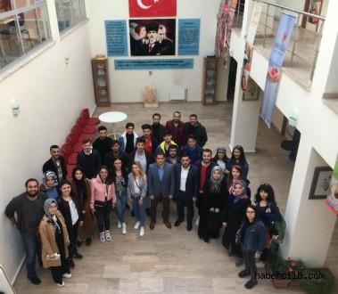 ÇKÜ'li Öğrencilerimizden Gençlik ve Spor İl Müdürlüğü'ne Ziyaret