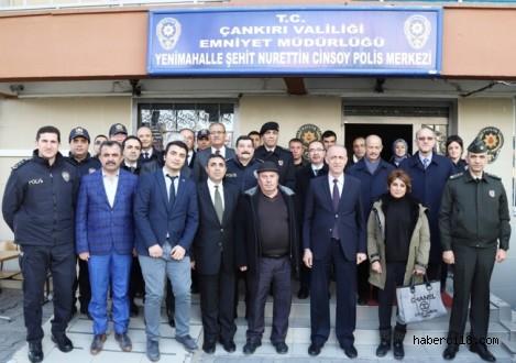 Eski Çankırı Valisi Ayhan Çevik ve Şehitlerimiz Nurettin Cinsoy, Alpay Evirgen, Emrah Ersoy, Fatma Dönmez Anıldı