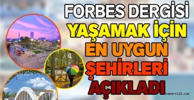 Forbes Dergisi Yaşamak İçin En Uygun Şehirleri Açıkladı
