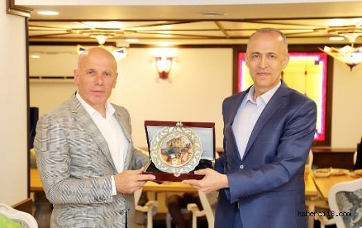 Garnizon Komutanı Ahmet Kurumahmut İçin Veda Yemeği Verildi