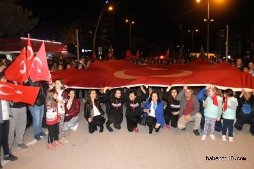 GEODER Tarafından 19 Mayıs Atatürk'ü Anma, Gençlik Ve Spor Bayramı Kapsamında Yürüyüş Yapıldı