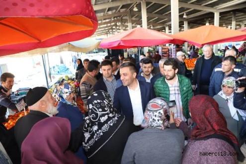 """Halk İstikrar İçin """"AK Parti"""" Diyor"""