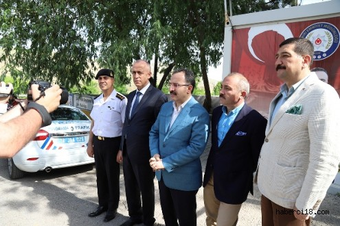 İçişleri Bakan Yardımcısı İsmail Çataklı İlimizde Trafik Denetimlerine Katıldı