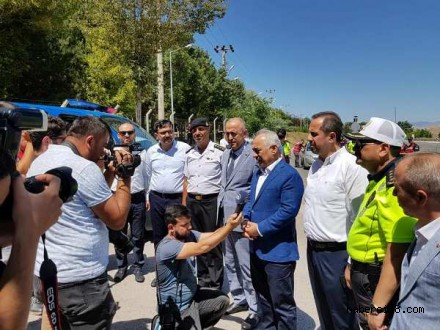 İçişleri Bakan Yardımcısı Mehmet Ersoy İlimize Geldi