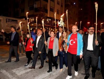 İlimiz Valiliği, Garnizon Komutanlığı Ve Halkın Belediyesinden Şanına Yakışır 29 Ekim Cumhuriyet Bayramı Kutlaması