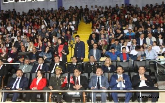 İlimizde Atatürk'ü Anma Gençlik ve Spor Bayramı Kutlandı