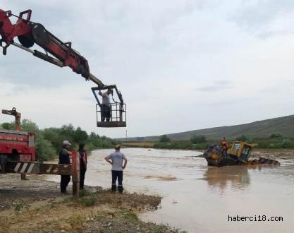 İlimize Yağan Yoğun Yağış Ve Oluşan Sel Suları Ekili Arazilere Zarar Verdi
