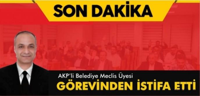 İş Adamı Aziz Mazlum AK Parti Belediye Meclis Üyeliğinden İstifa Etti