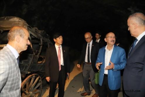 Japonya Büyükelçisi Akio Miyajima Çankırıda