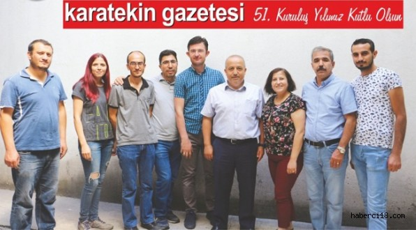Karatekin Gazetesi 51. Yaş Gününü Kutladı