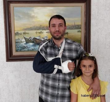 Kızı İçin Kendini Feda Etti