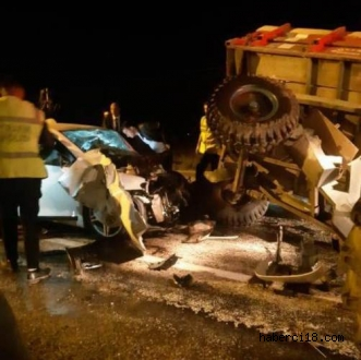 Kızılırmak-Sungurlu Karayolunda Trafik  Kazası 2 Ölü 1 Yaralı