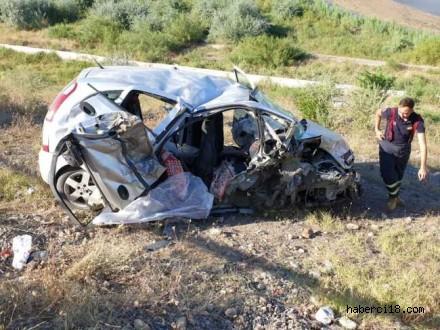 Kızılırmak Bozkır Köyü Karayol Güzergahgında Trafik Kazası 2 Ölü Ve Yaralılar Var