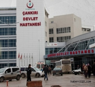 Konumuz Çankırı Devlet Hastanesi Çevre Düzenlemesi Ve Araç Park Yeri (Özel Haber)