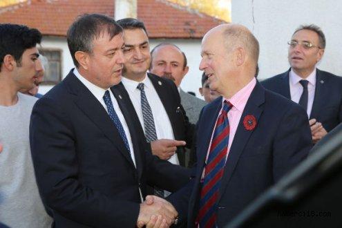 Birleşik Krallık (İngiltere) Ankara Büyükelçisi Sir Dominick Chilcott Üniversitemizi Ziyaret Etti