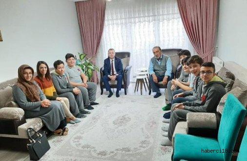 Çankırı Bahçeşehir Koleji Öğretmen ve Öğrencilerinden Şehit Aileleri ve Gazilerimize Ziyaret