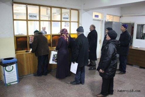 Çankırı'da Belediye Vezneleri Gece 24.00'e Kadar Açık Olacak