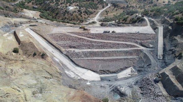 Çankırı Şabanözü Kutluşar Barajının Yapımı Devam Ediyor