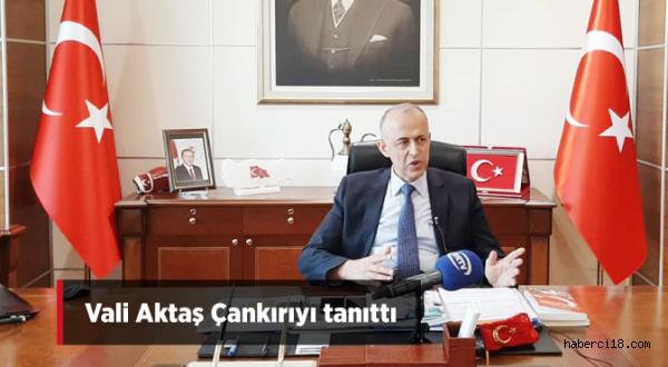 Vali Hamdi Bilge Aktaş Çankırı'yı Tanıttı