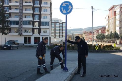 Zabıta Ekipleri Trafik Güveliği İçin İş Başında