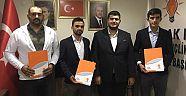 AK Parti Gençlik Kolları Yeni İlçe Başkanları Atandı