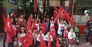 Atatürk'ün Çocukları Çankırı'yı Bayraklarla Donattı