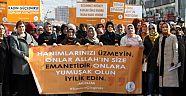 Çankırı'da AK Parti Kadın Kolları Kadına Şiddete Hayır Dedi