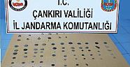 Çankırı İl Jandarma Komutanlığı Kültür ve Tabiat Varlığı Kaçakçılığı Yapan Şahısları İkinci Kez Yakaladı