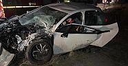 Çerkeş İlçesi Saçak Beldesi Yol Ayrımı D-100 Karayolu Üzerinde Trafik Kazası 7 Yaralı