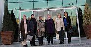 MHP Çankırı Kadın Kolları Başkanlığı Öğretmenlerimizi Evlerinde Ziyaret Etti