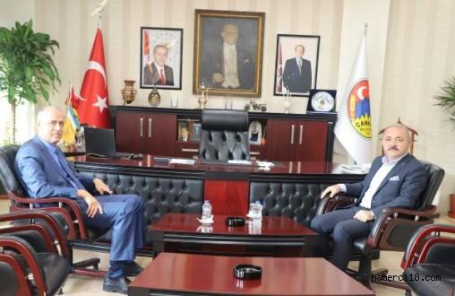 Vali Aktaş'tan Başkan Esen'e Ziyaret