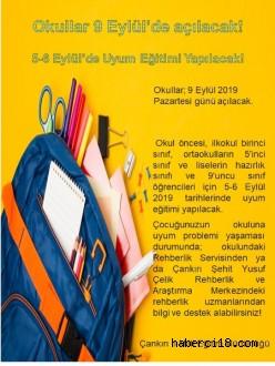 Yeni Bir Eğitim Öğretim Yılı Yeni Bir Heyecan!